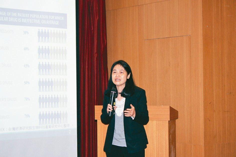 台灣經濟研究院生物科技產業研究中心主任孫智麗。 吳佳汾/攝影