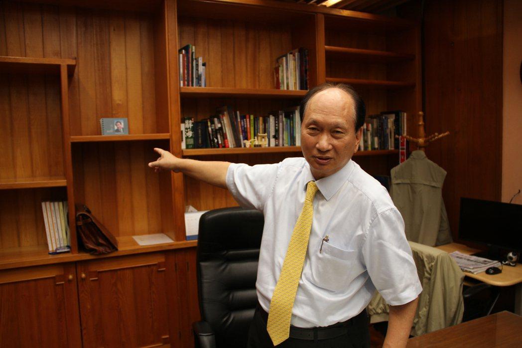 前宜蘭代理縣長吳澤成。 本報資料照/記者羅建旺攝影