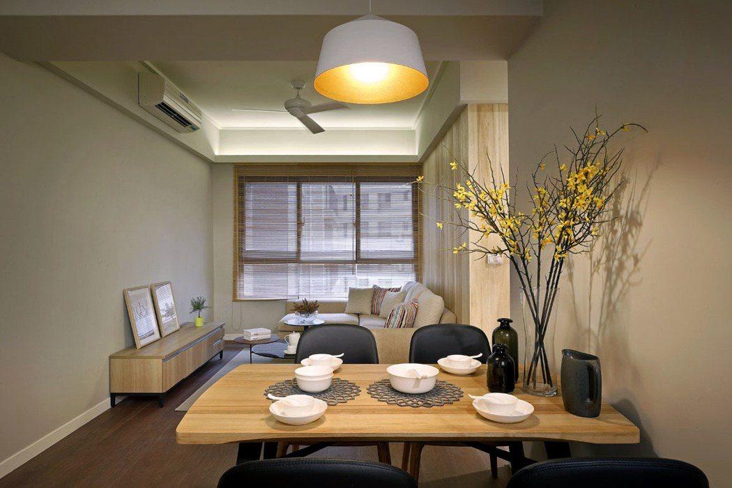 「晴空樹」只要簡單的裝飾,舒適的空間怎麼樣都好住。(圖為實品屋拍攝)。 圖片提供...