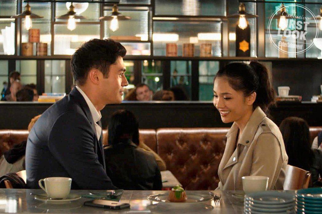「瘋狂亞洲土豪」是好萊塢難得一見由亞裔掛帥的電影。圖/摘自EW