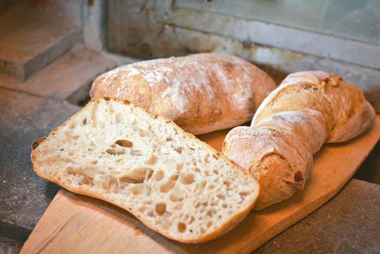 依照不同比例,可以做出不同風味的裸麥麵包。 圖/張源銘(舞麥者)