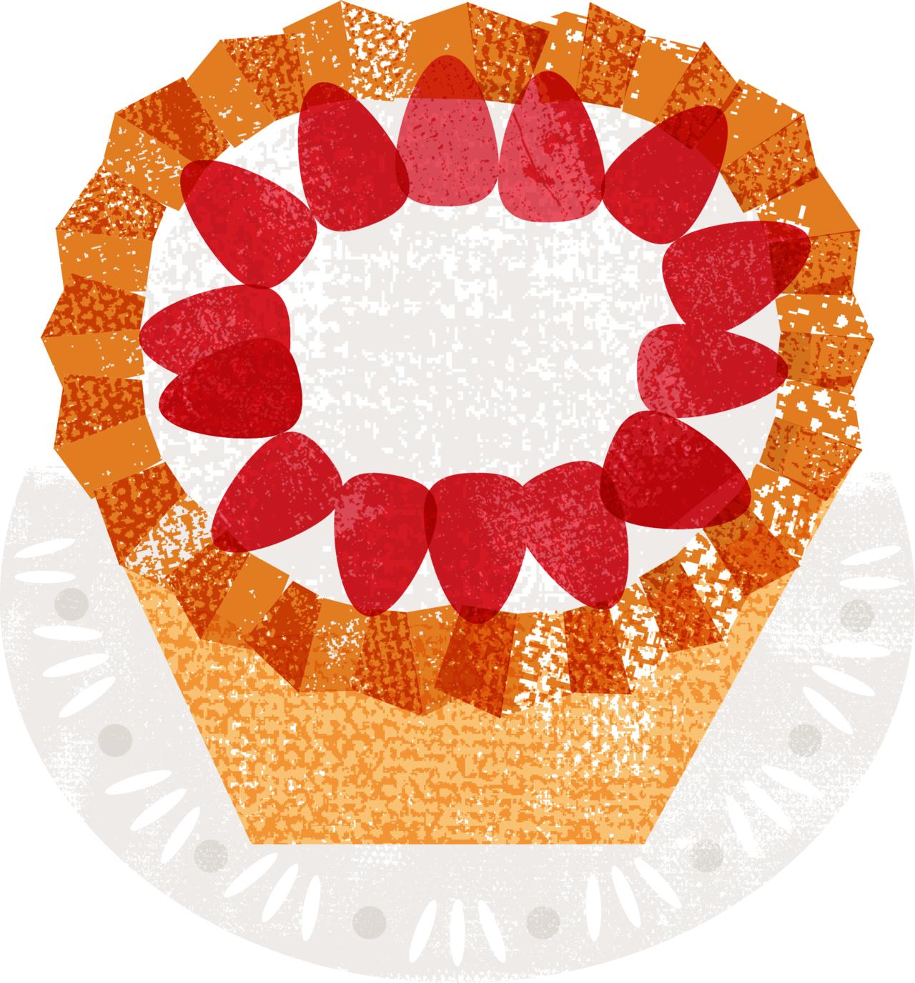 優格生乳酪蛋糕 繪圖/杜玉佩