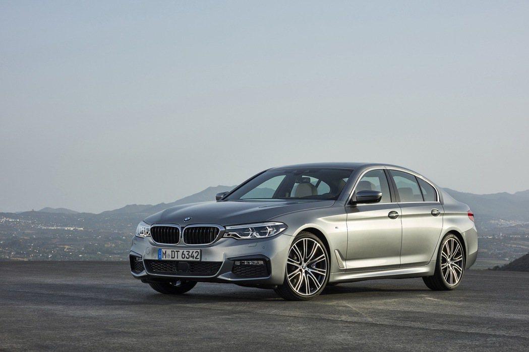 BMW5系列。 圖/汎德提供