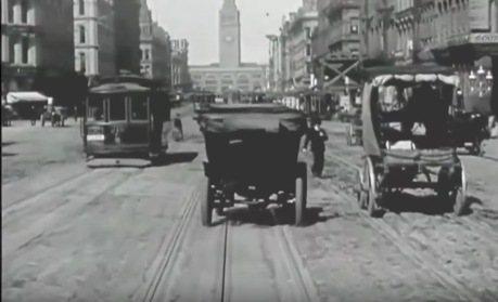 100年前的城市交通狀況 原來是長這樣