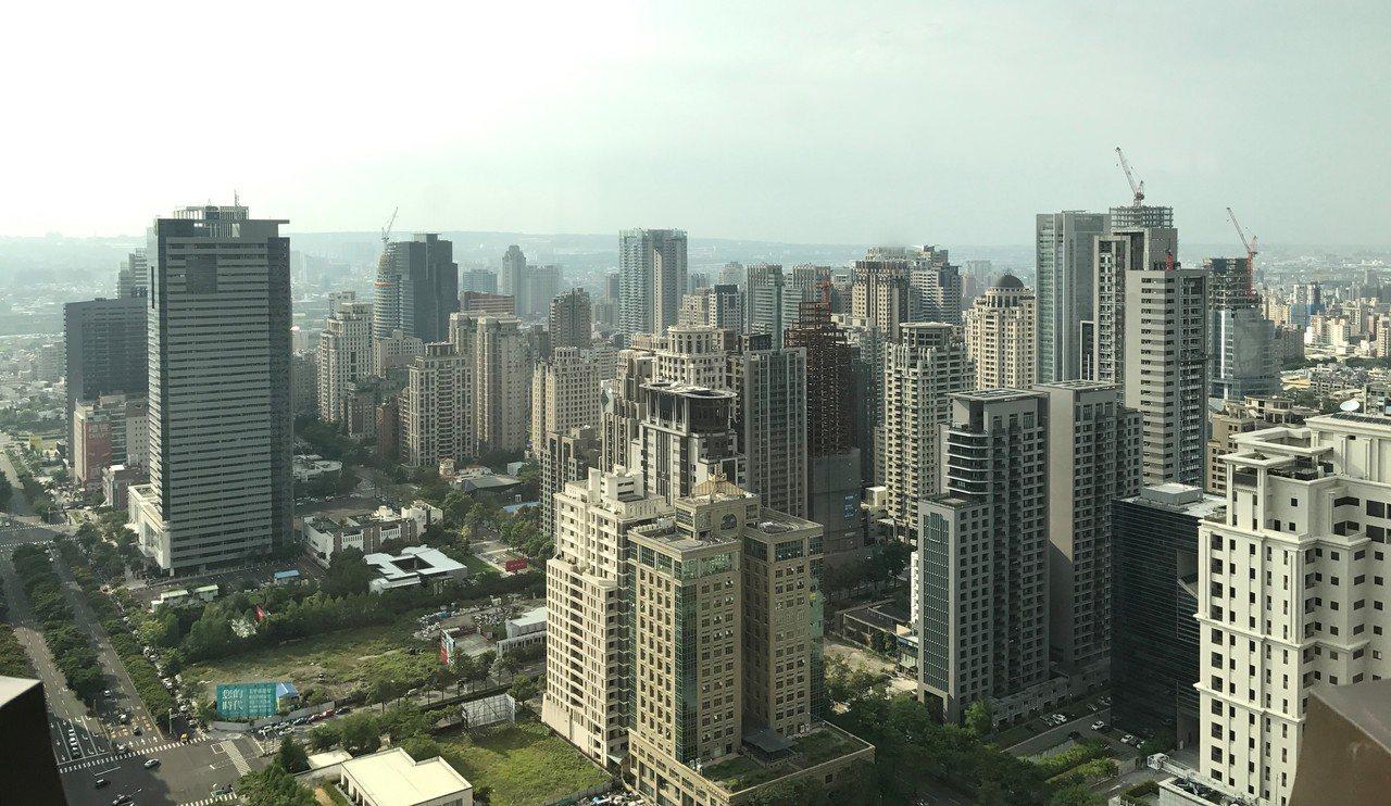 官方統計,台中人不太買新房子,近兩年購買5年內新屋占比都是六都最低。記者游智文/...