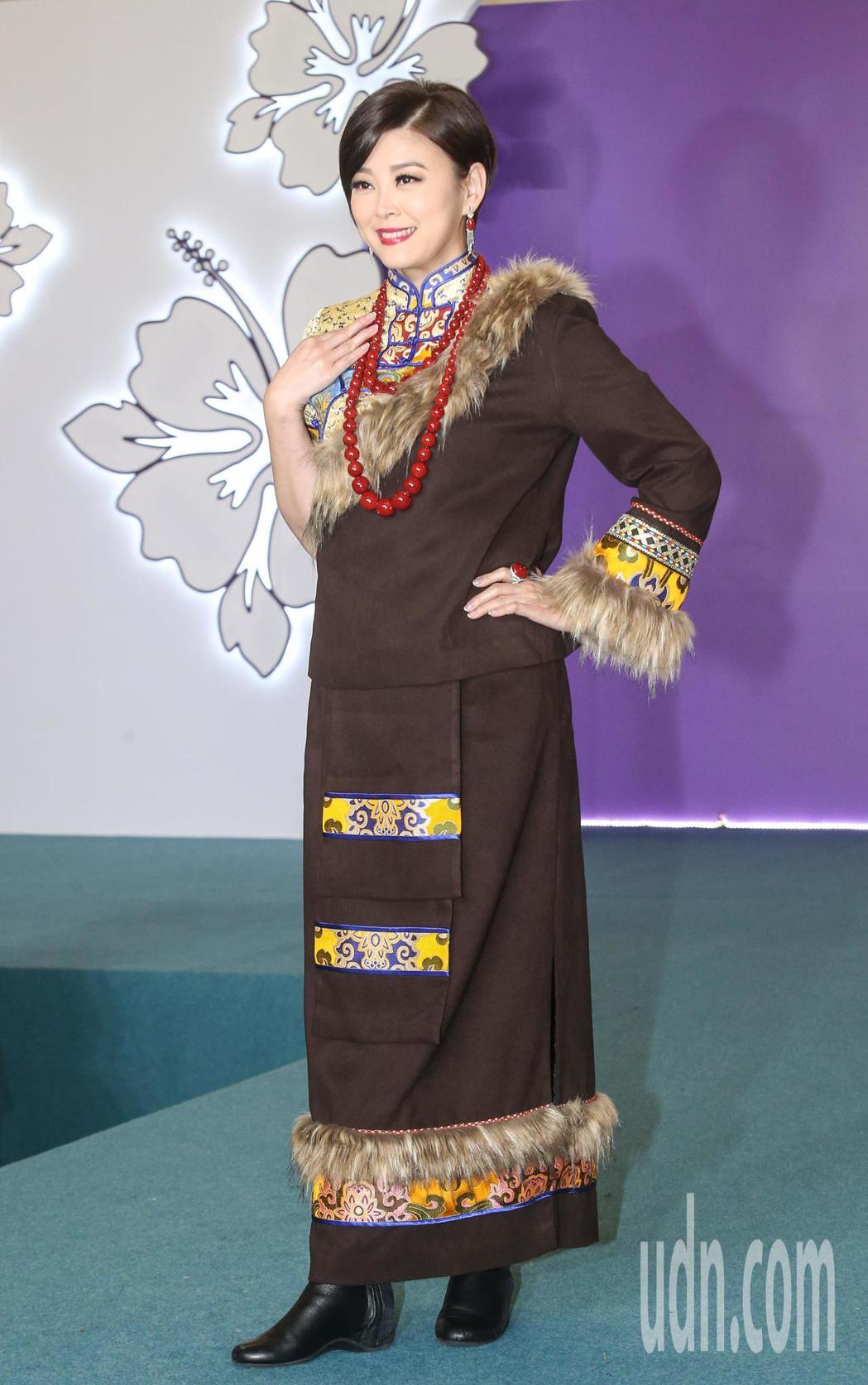 方馨出席珠寶走秀。記者鄭清元/攝影