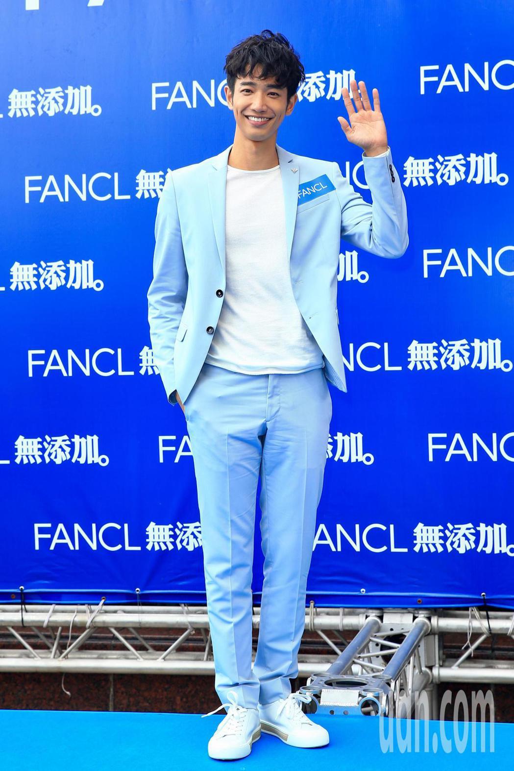 劉以豪出席FANCL活動。記者林伯東/攝影