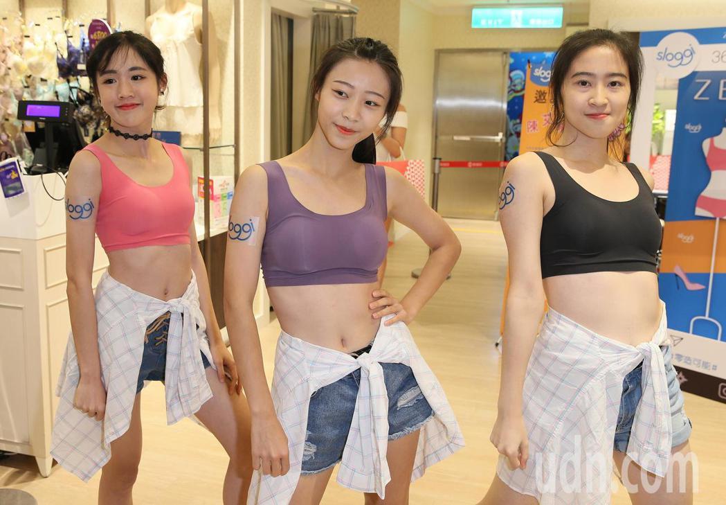 世新大學熱舞社同學,演繹各種時尚百搭穿著。記者陳柏亨/攝影