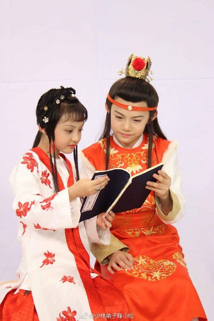 「小戲骨版紅樓夢」由童星們超齡、超真實演出。圖/摘自微博