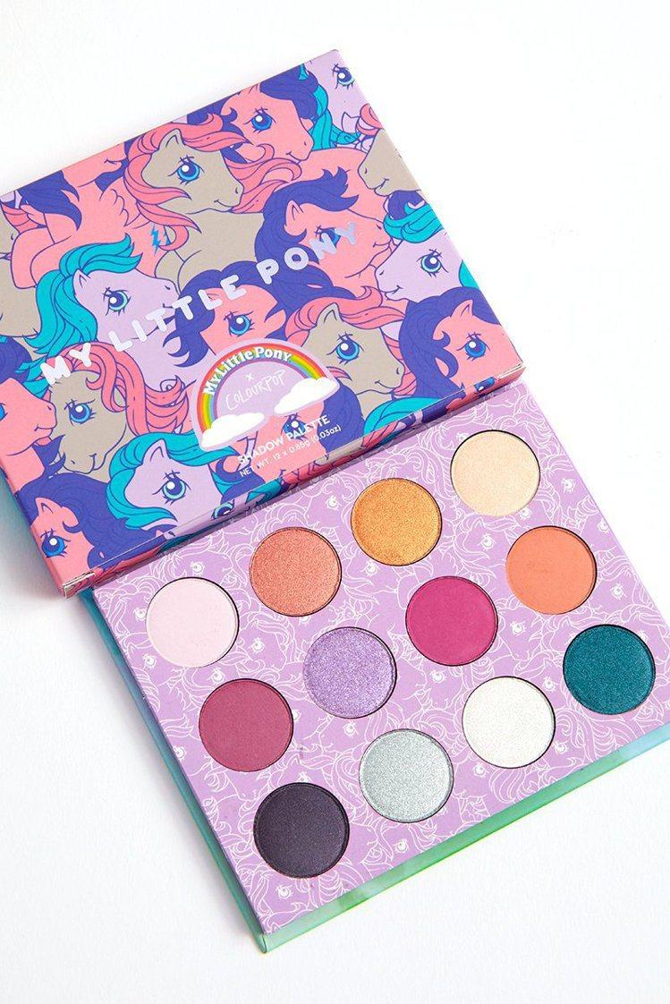 於1992年誕生,廣受時尚圈愛戴的彩虹小馬也被美國平價彩妝ColourPop看中...