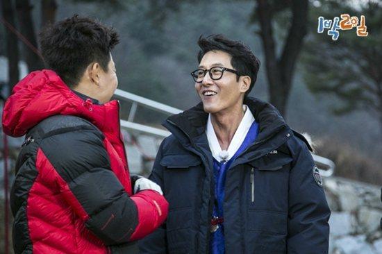 節目播出大量金柱赫和成員們互動的片段。圖/摘自KBS