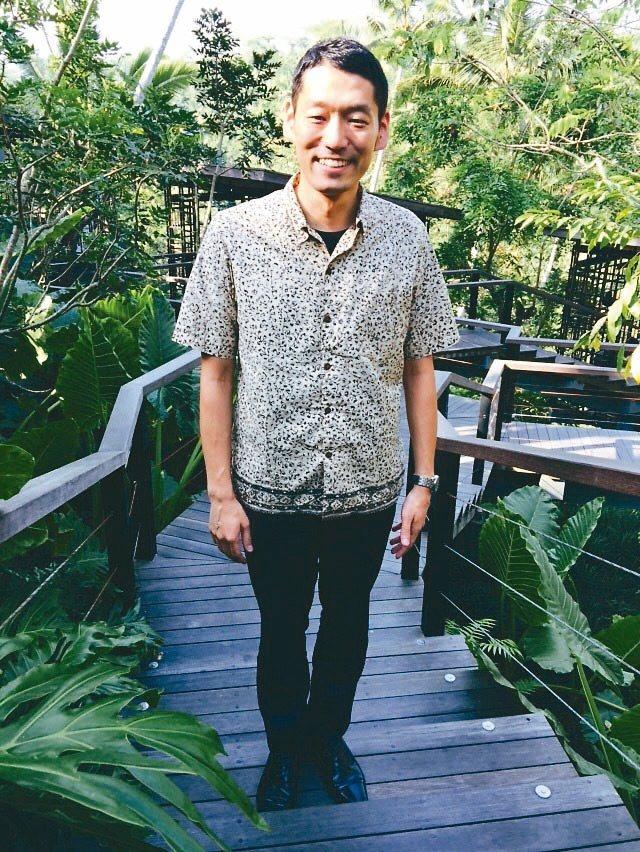 高大帥氣的總經理伊藤靖兼,身上有強烈的星野魂。 記者錢欽青/攝影