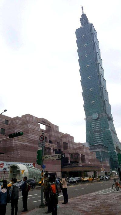台北101。記者陳睿中攝影/聯合報系資料照