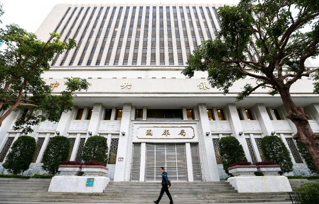 中央銀行。 圖/聯合報系資料照片