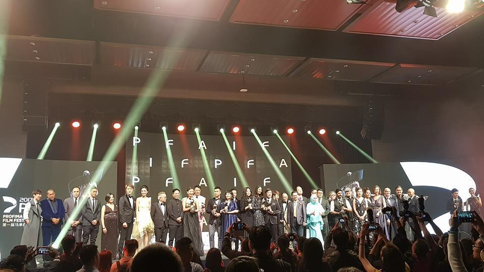 馬來西亞5日舉辦第一屆「PIFFA至尊電影頒獎禮」,台灣吳子云憑「六弄咖啡館」獲