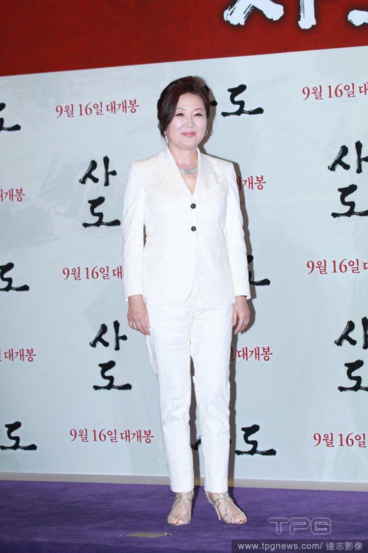 韓國資深演員「國民媽媽」金海淑。圖/達志影像