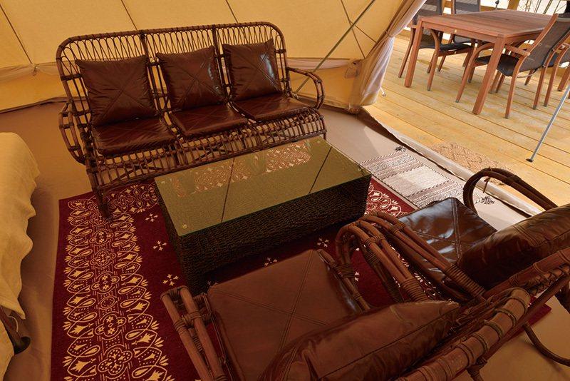 每一幢帳篷內的傢俱、空間設計都各有特色,充滿驚喜。