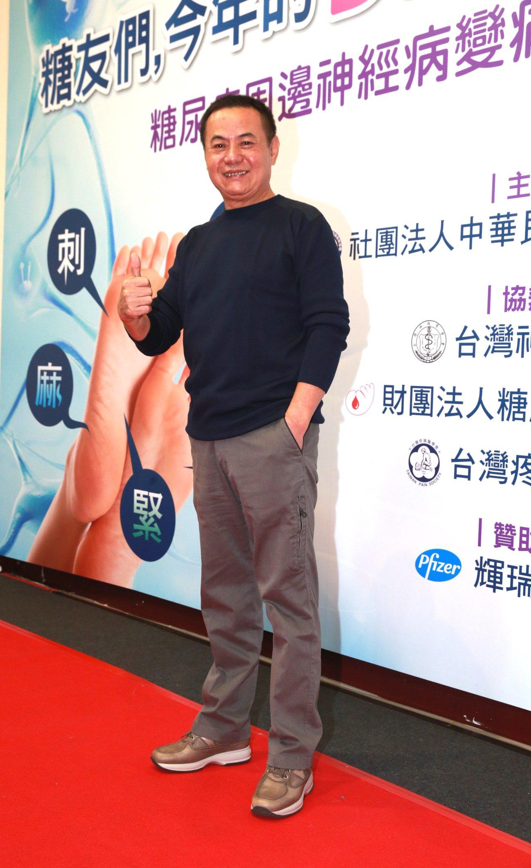 藝人蔡振南擔任衞教大使。記者黃義書/攝影