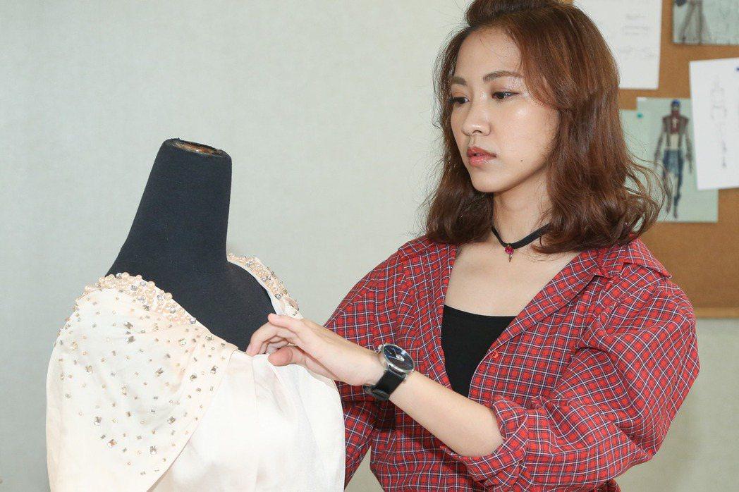 女星林玟誼因演出「甘味人生」被稱為「災難公主」。記者黃威彬/攝影