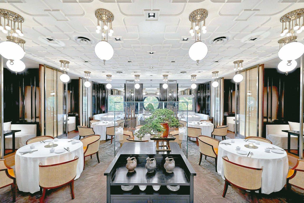 台北文華東方雅閣中餐廳廳景。圖/文華東方提供