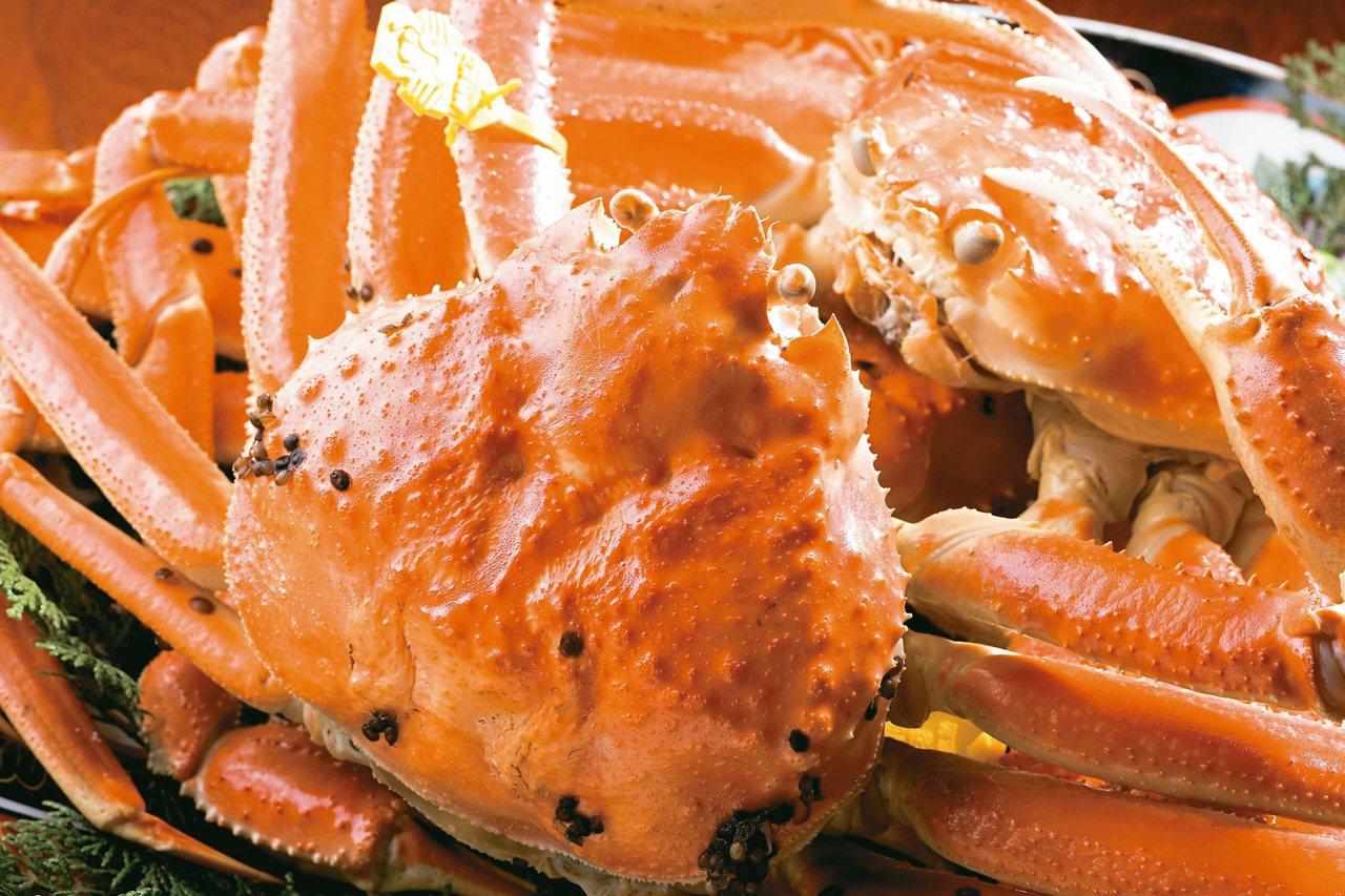 越前蟹肉質細緻鮮甜,乃是日本皇室每年指定品嘗的極品美饌。 圖/有行旅提供
