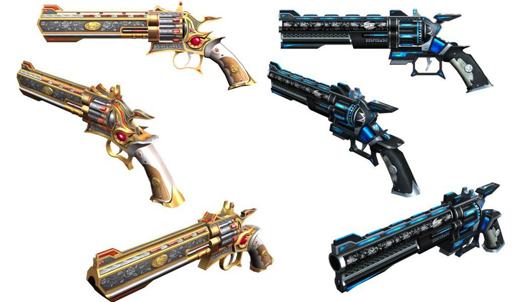 「黑市交易系統」中將能夠交易超強副手武器「Desperado」。