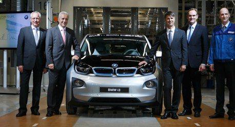 BMW i3生產超過10萬輛 顯現電能發展成果