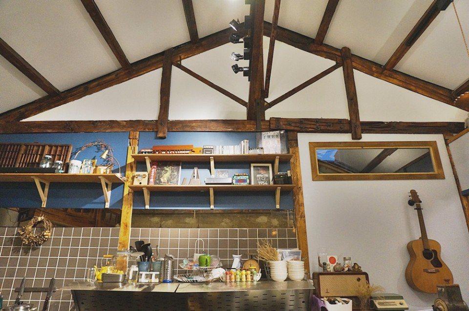 70年歷史的檜木老屋。(攝影/林郁姍)
