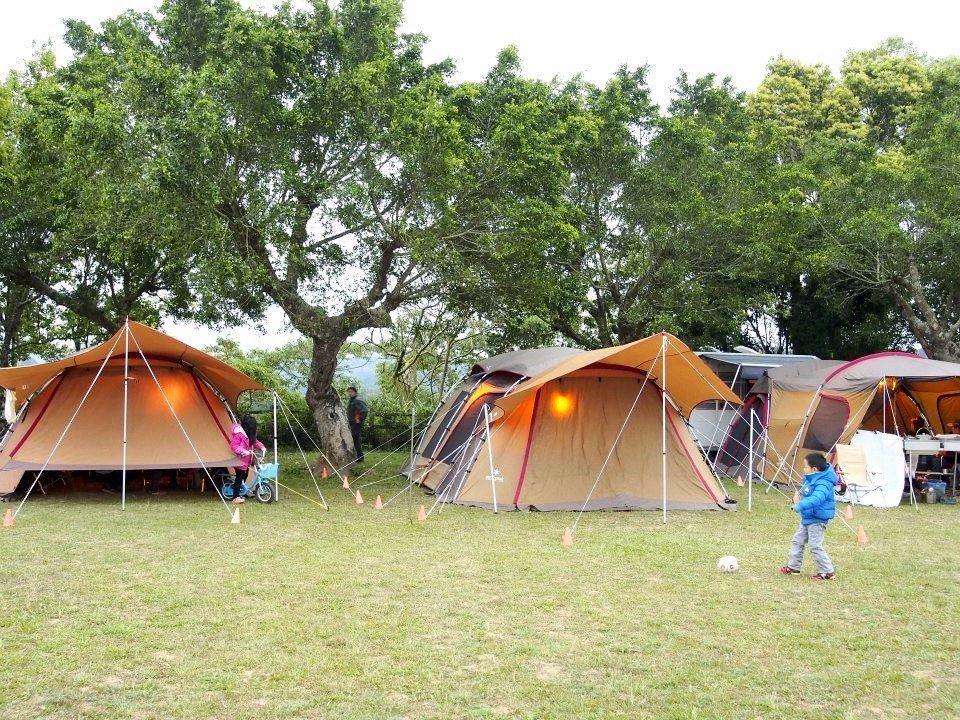 廣闊的營地場區,很適合進行各項戶外活動。(圖片來源/老官道休閒農場FB粉絲團)