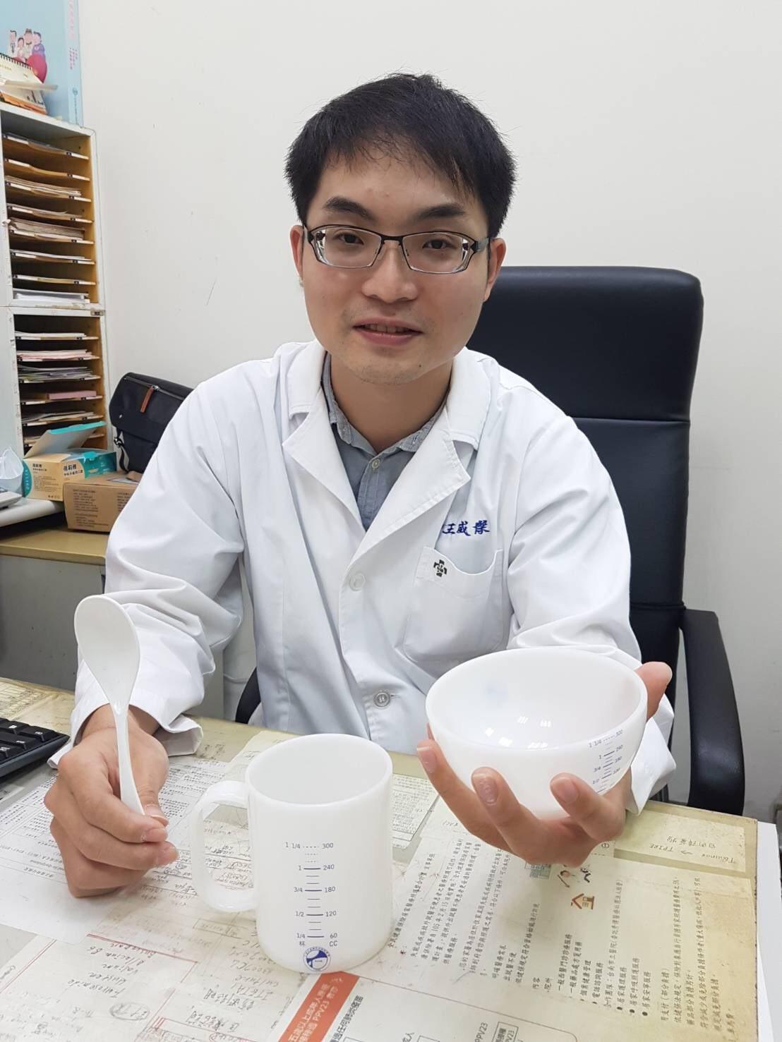 台南市立醫院家醫科醫師王威傑提醒大家重視飲食。圖/市醫提供