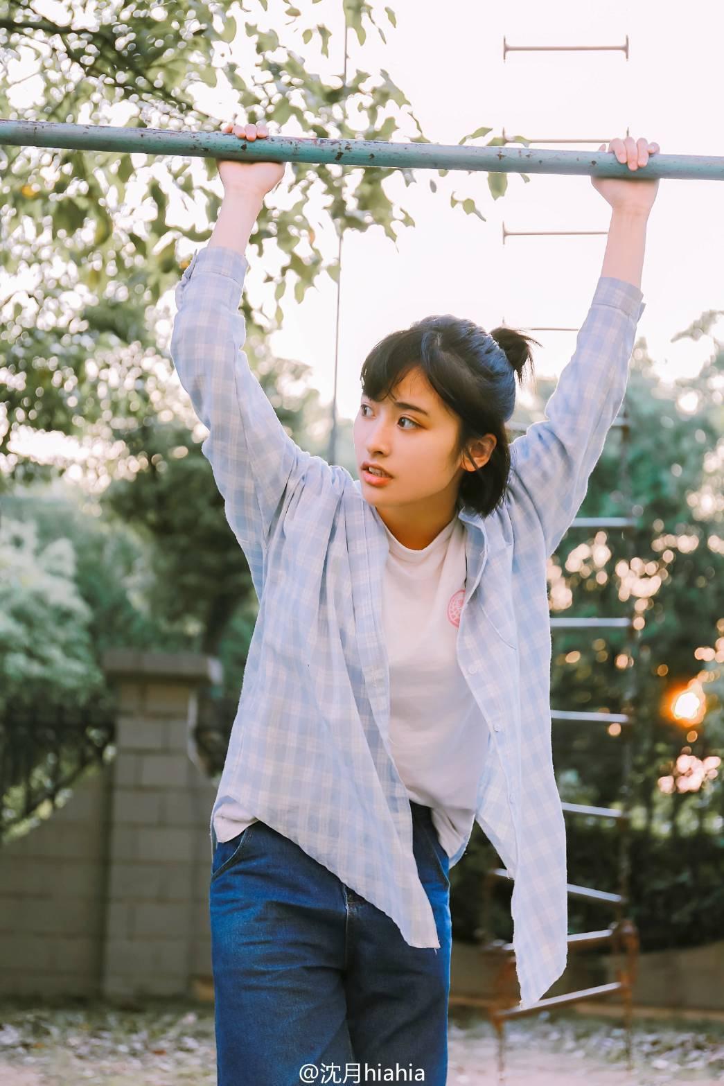 沈月被曝將飾演新版「杉菜」。圖/摘自微博