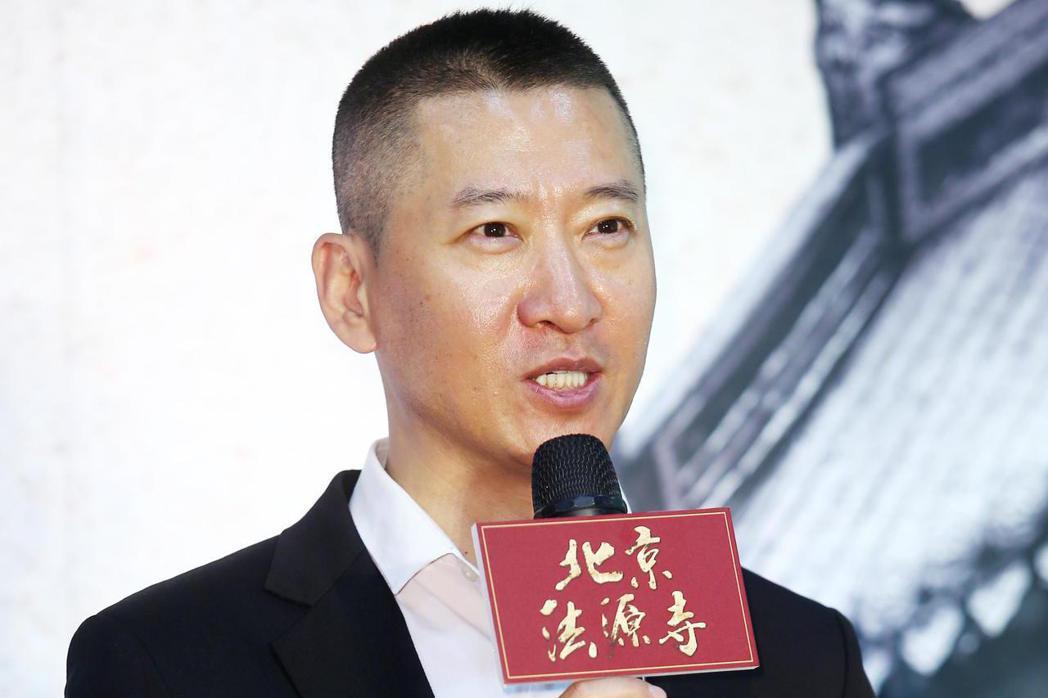 《北京法源寺》舞台劇主要演員,飾演光緒皇帝的周杰。記者杜建重/攝影