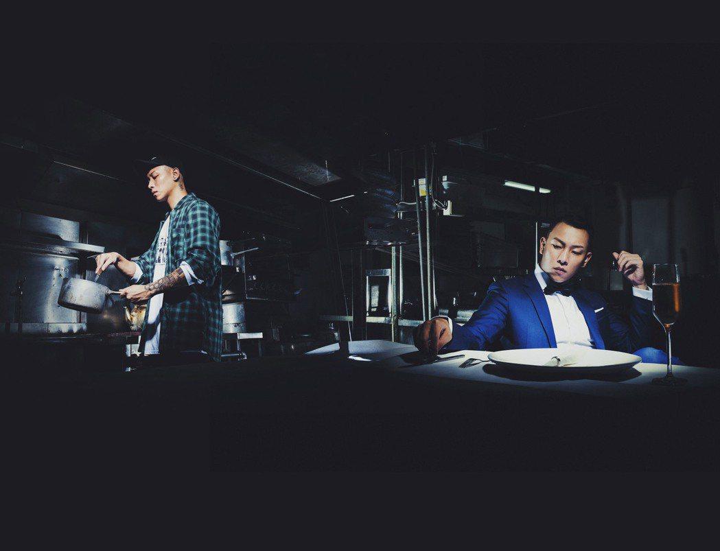瘦子用廚師譬喻20歲玩嘻哈音樂的心境。圖/本色音樂提供