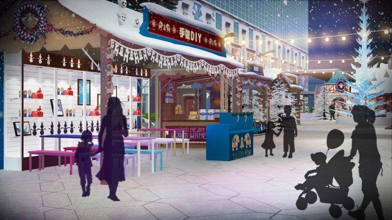小鎮市集。圖/台灣華特迪士尼提供