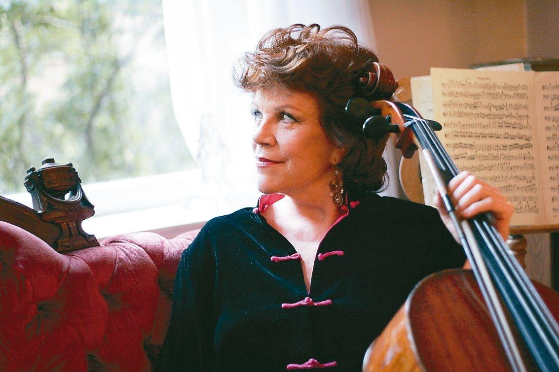 大提琴女神-克莉絲汀.瓦列芙斯卡。 圖╱聯合數位文創提供