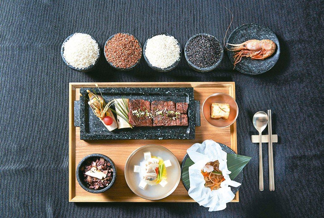 宴請川普的南韓國宴。 圖/取自青瓦台官網