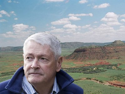 他是美國最大地主,擁220萬畝土地。