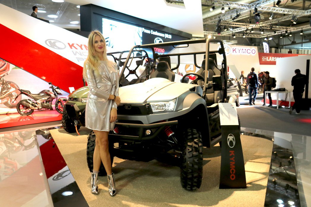 KYMCO ATV。 記者史榮恩/攝影