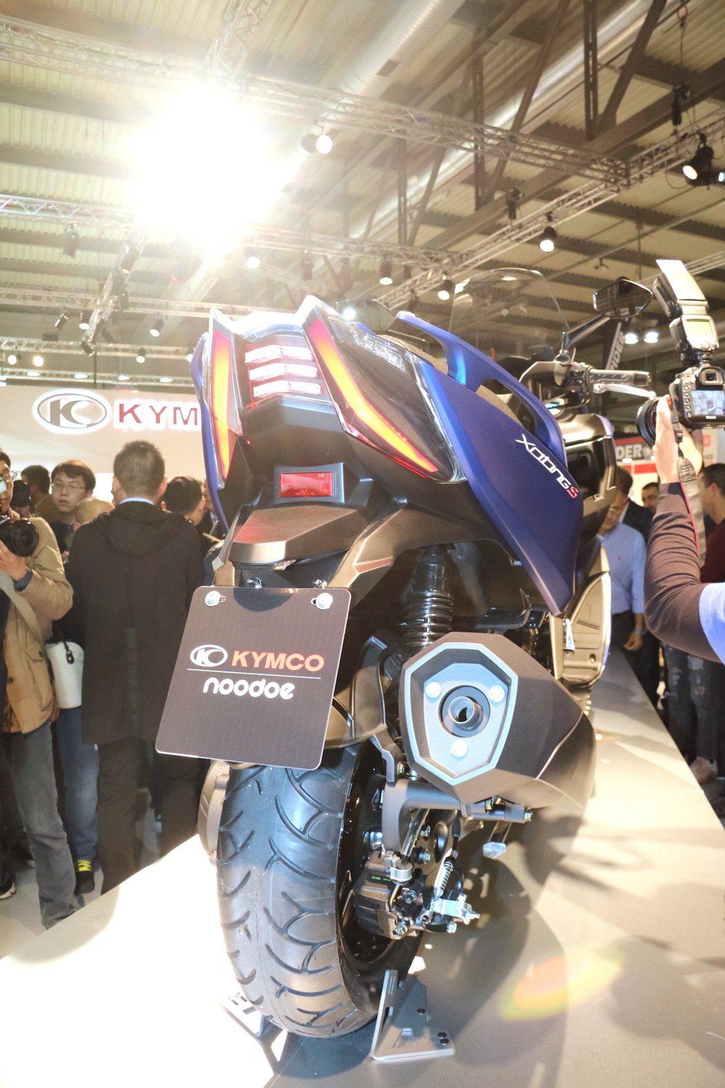 KYMCO XCITING S 400。 記者史榮恩/攝影