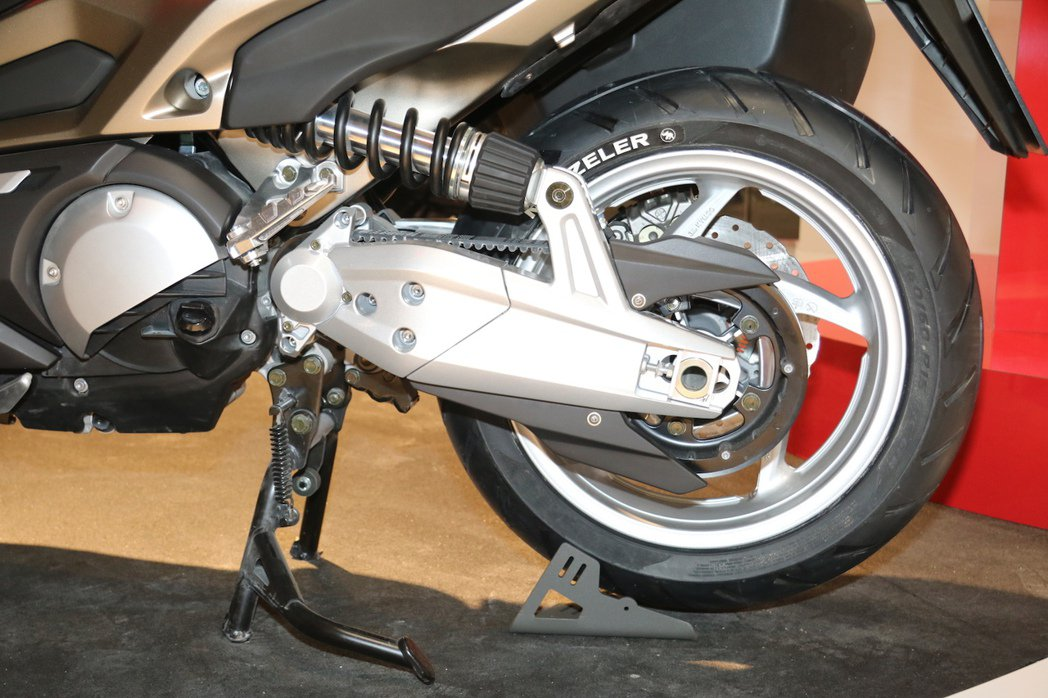 KYMCO全新C Series Concept二輪版CV2。 記者史榮恩/攝影