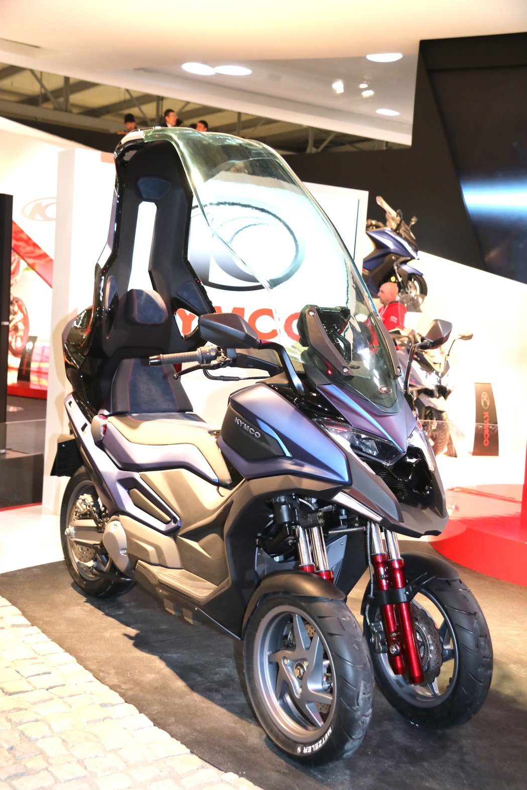 KYMCO C Series Concept三輪版CV3。 記者史榮恩/攝影
