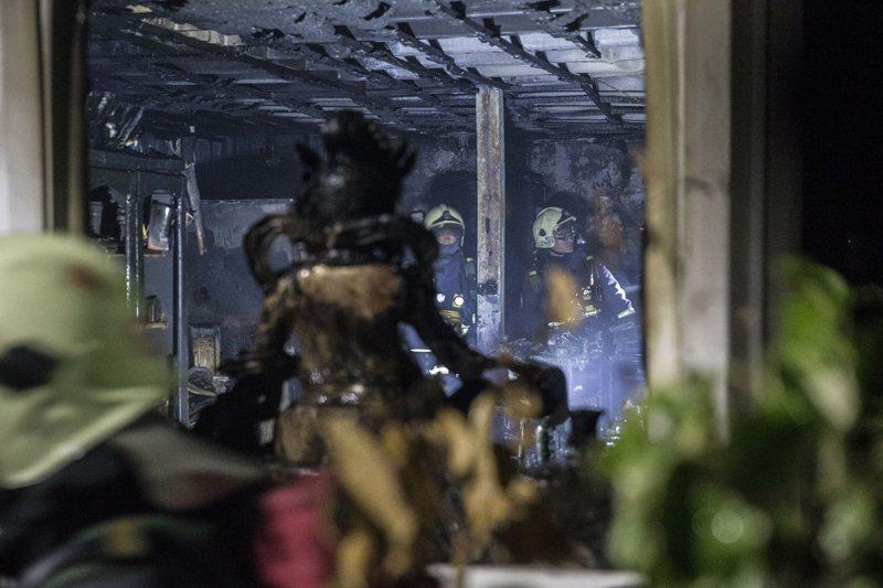 只有把應變災害的邏輯順序弄清楚後,才能減低「火雖滅了但卻有消防人員死傷」的情況發生。 圖/聯合報系資料照