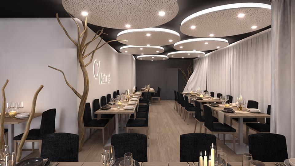 法國日前出現國內首家全裸餐廳,地點就位於首都巴黎。圖片來源/臉書