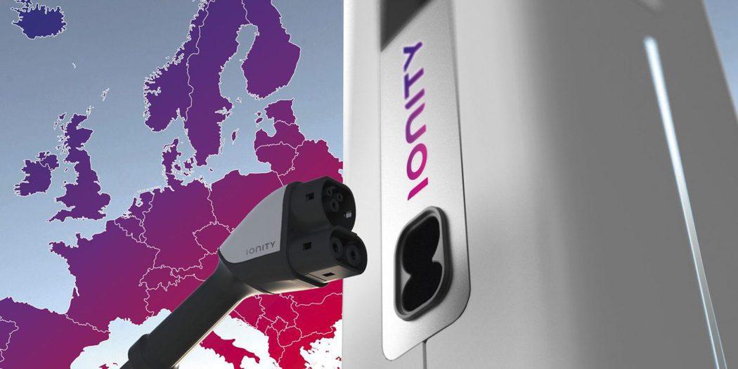 Volkswagne集團、Daimler、Ford以及BMW,四家大廠聯手建造名為「Ionity」的快速充電站(High-power charging, HPC)。 摘自Ionity