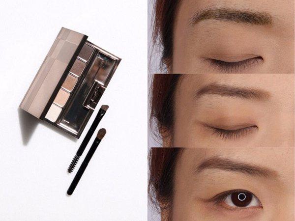 佳麗寶LUNASOL 精巧纖緻眉眼彩盒NT1550。圖/Beauty美人圈提供