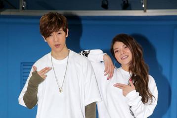 方泂鑌今天為演唱會練舞,他特別找來小甜甜擔任嘉賓,兩人展現好交情。