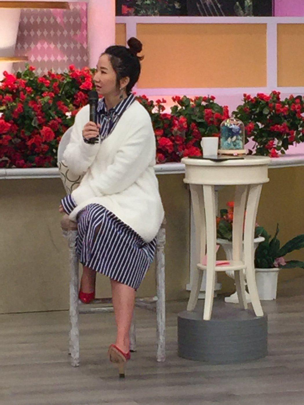 陶晶瑩為了金馬獎積極瘦身。圖/衛視中文台提供