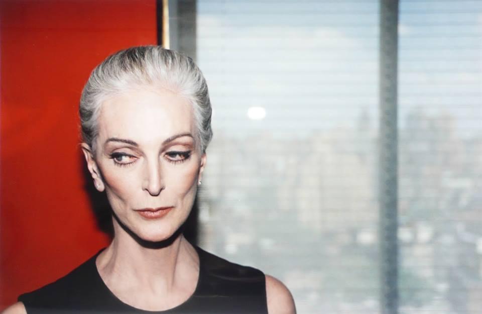 86歲的美國名模奧麗菲絲。 圖/摘自臉書