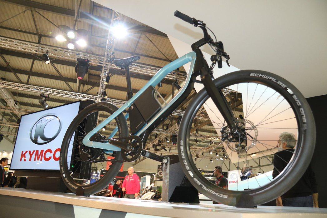 KLEVER X為電動自行車中的精品。 記者史榮恩/攝影
