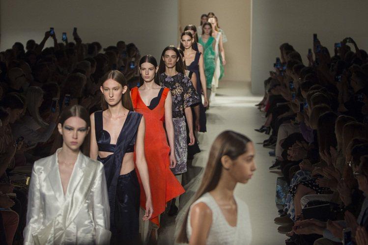 模特兒過瘦現象一直是時尚圈極具爭議的議題。圖/美聯社